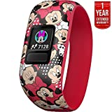 Garmin Vivofit jr. 2 – Stretchy Adjustable Activity Tracker for Kids + 1 Year Extended Warranty (Minnie Mouse Cartoon) Review