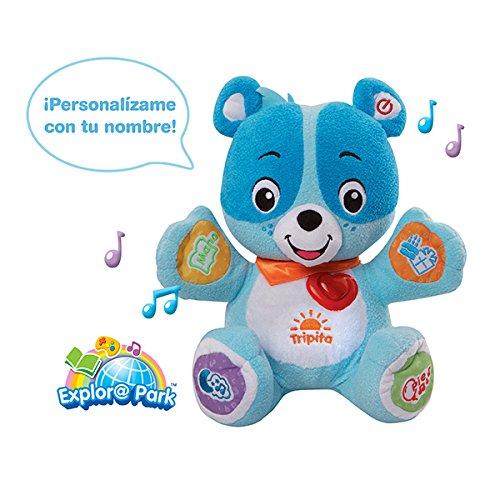 VTech - Mi osito Nino, peluche interactivo con conexión a Internet, color azul (3480-147222): Amazon.es: Juguetes y juegos