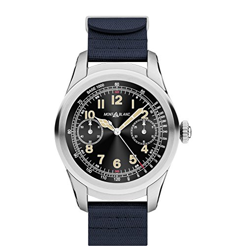 Montblanc Summit Smartwatch World Time Chronograph Mens Watch 117741
