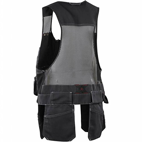 Blaklader 310013809900L Vest ''Craftman'' Size In L, Black