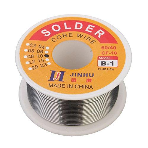 New 60/401mm 100g Plata Estaño Plomo alambre para soldar (consumibles de soldadura