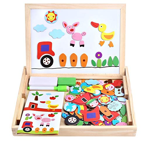 Wooden Toy Magnetic Board...