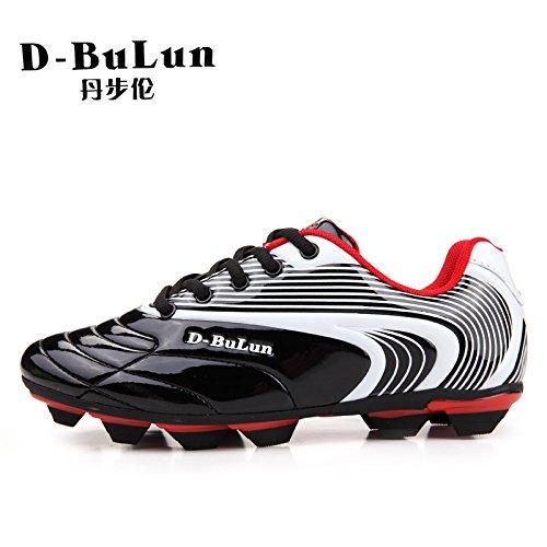 Xing Lin Botas De Fútbol Spike Muchachos Césped Artificial Turf Zapatillas De Fútbol dark grey