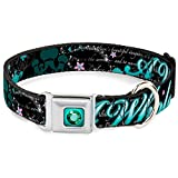 Disney Dog Collar DYAR-Princess Gem Full Color Turquoise - Aladdin A WHOLE NEW Pet Collar
