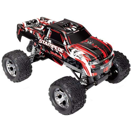 Traxxas 36054-1-REDX Traxxas Stampede XL-5 Truck Ready-To-Race TQ 2 Channel 2.4G ()