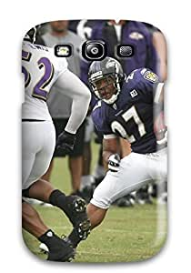 Hot Tpu Cover Case For Galaxy/ S3 Case Cover Skin - Ray Rice