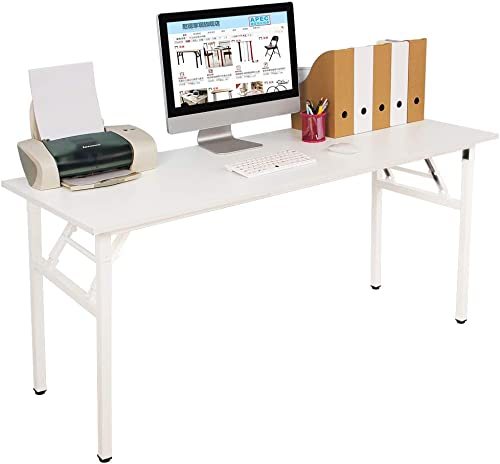 SDHYL 62 inches No Assembly Foldable Computer Desk