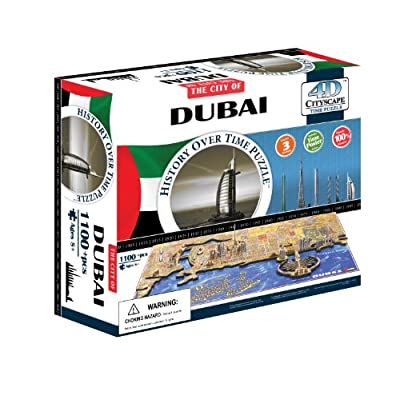 4d Cityscape Time Puzzle Dubai Inglese Giocattolo 4 Giu 2014