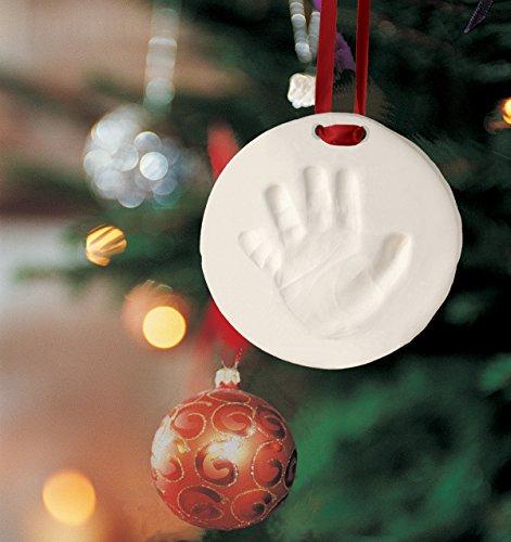 Pearhead Babyprints Baby Handprint or Footprint Keepsake Ornament - Makes A Perfect Holiday Gift, Holiday