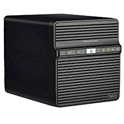 Synology DiskStation DS411 (Diskless) Network Attached Storage - Black