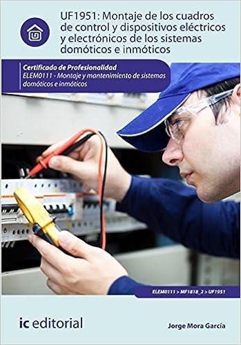 Montaje de los cuadros de control y dispositivos eléctricos