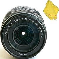 Canon 18-135mm IS STM Lens (WHITE BOX) + MEGAACC Microfiber Cloth