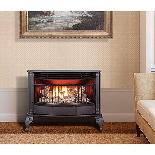 Freestanding gas fireplaces are ideal for the person who loves fireplaces