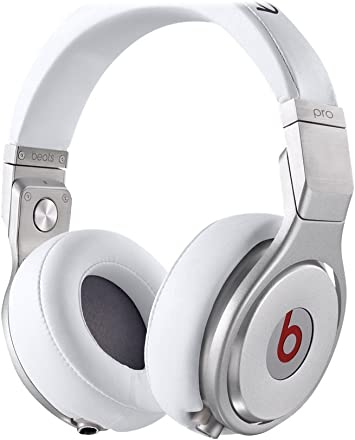Beats Pro Wired Over Ear Headphone White Home Audio Theater