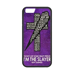 Buffy the Vampire Slayer Cell Phone Protector for iPhone 6(4.7) Plastic and TPU (Laser Technology) hjbrhga1544