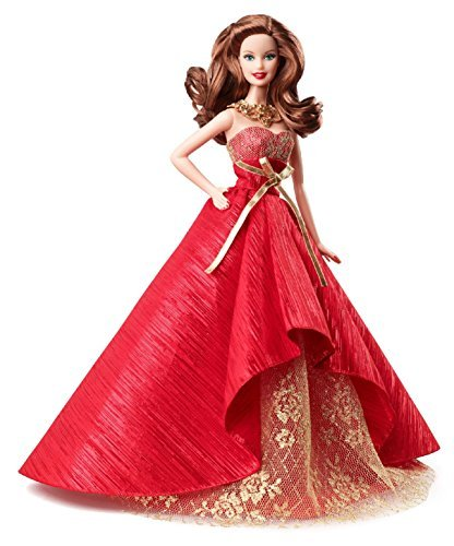 Barbie Collector 2014 - Barbie Collector 2014 Holiday Doll Brunette