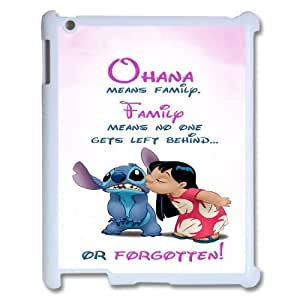 [StephenRomo] For Ipad 2/3/4 Case -Ohana Means Family - Funny Stitch PHONE CASE 12
