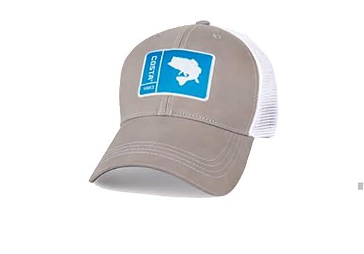 58255423fe3e1 ... new style costa del mar original patch bass trucker hat grey 8b4b0 59f02