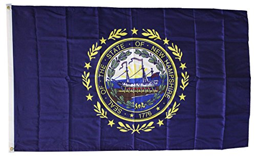 New Hampshire - 3'x5' Dura-Poly Polyester State Flag by Flag