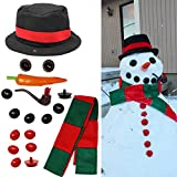 Joyin Toy Snowman Kit Build Your Own Snowman Kids First Snowman Decorating Kit