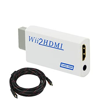 wii 2 hdmi 1080p cable