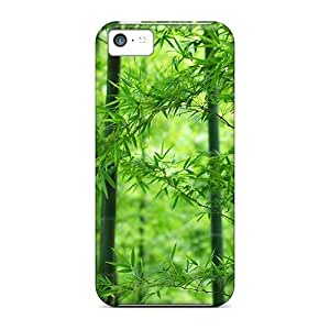 New Snap-on Anglams Skin Case Cover Compatible With Iphone 5c- Bamboo Grove