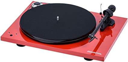 Pro-Ject Essential III recordmaster Tocadiscos, Velocidad 33/45 ...