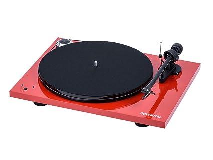 Pro-Ject Essential III recordmaster Tocadiscos, Velocidad 33 ...