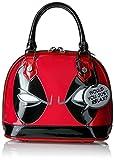 marvel handbag - Loungefly Marvel Deadpool Eyes Mini Dome, Red