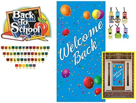 Classroom Decorations Welcome Back To School Set Banner