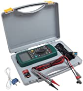 Morris Products 57074 Cat III TRMS Autorange Digital Multimeter with PC Interface