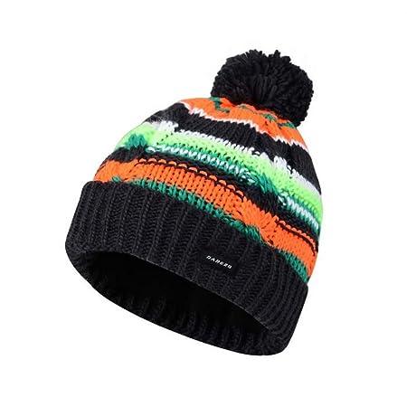 2af59f15 Dare 2b Boys Drifter Warm Fleece Lined Knit Beanie Hat: Amazon.co.uk:  Sports & Outdoors