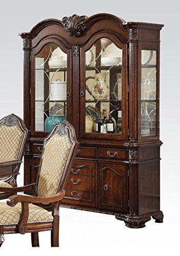 ACME Chateau De Ville Espresso Hutch Buffet by Acme Furniture (Image #2)