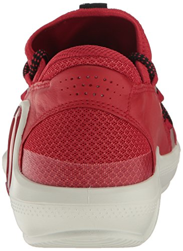 Ecco Donna Intramontabile 3 Tessile Moda Sneaker Pomodoro / Pomodoro