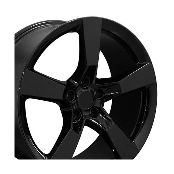 OE-Wheels-20-Inch-Fits-Chevy-Camaro-SS-Style-CV11-Gloss-Black-20×9-Rim