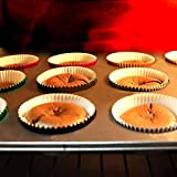 Eoonfirst Foil Metallic Cupcake Liners Standard