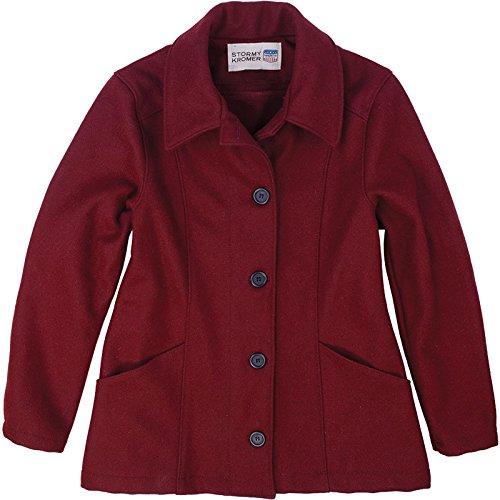 Stormy Kromer Women Women's Ida Chore Coat Merlot L