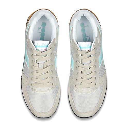 Donna Acqua Alluminio Diadora Malone Sneaker W Grigio Chiaro azzurro C6469 6x6t7qw81