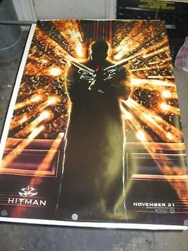 Hitman Orig U S One Sheetteaser Movie Poster Timothy Olyphant