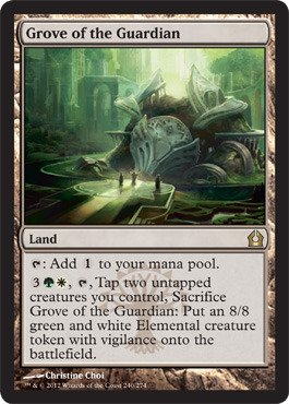 Magic: the Gathering - Grove of the Guardian (240) - Return to Ravnica - Foil