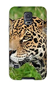 Quality Case Cover With Jaguar Nice Appearance Compatible With Galaxy S5 1693111K29482046