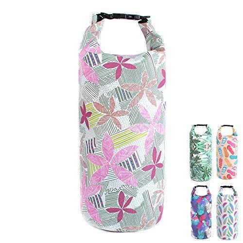 UnbanMover Dry Bag Unique Fashion Design Waterproof 500D PVC 5L/10L/20L (Spring,5L) ()