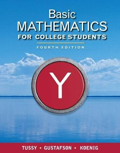 Basic Mathematics for College Students (Available Titles CourseMate) by Brooks / Cole