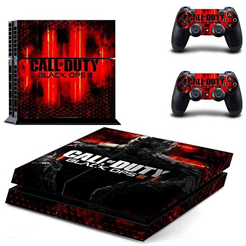 Hambur® Sony PlayStation 4 Skin Decal Sticker Set - Call of Duty Black Ops 3 (1 Console Sticker + 2 Controller Stickers) ()
