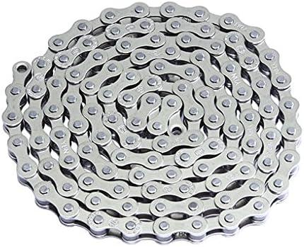Lowrider YBN 自転車チェーン 1/2インチ X1/8 シングルスピード クロム バイクパーツ 自転車パーツ バイクアクセサリー 自転車アクセサリー
