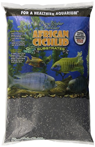 African Cichlid Substrates Rift Lake Sand for Aquarium, 20-Pound, Dry