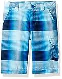 Columbia Boys Silver Ridge Printed Shorts, Super Blue Plaid, XX-Small