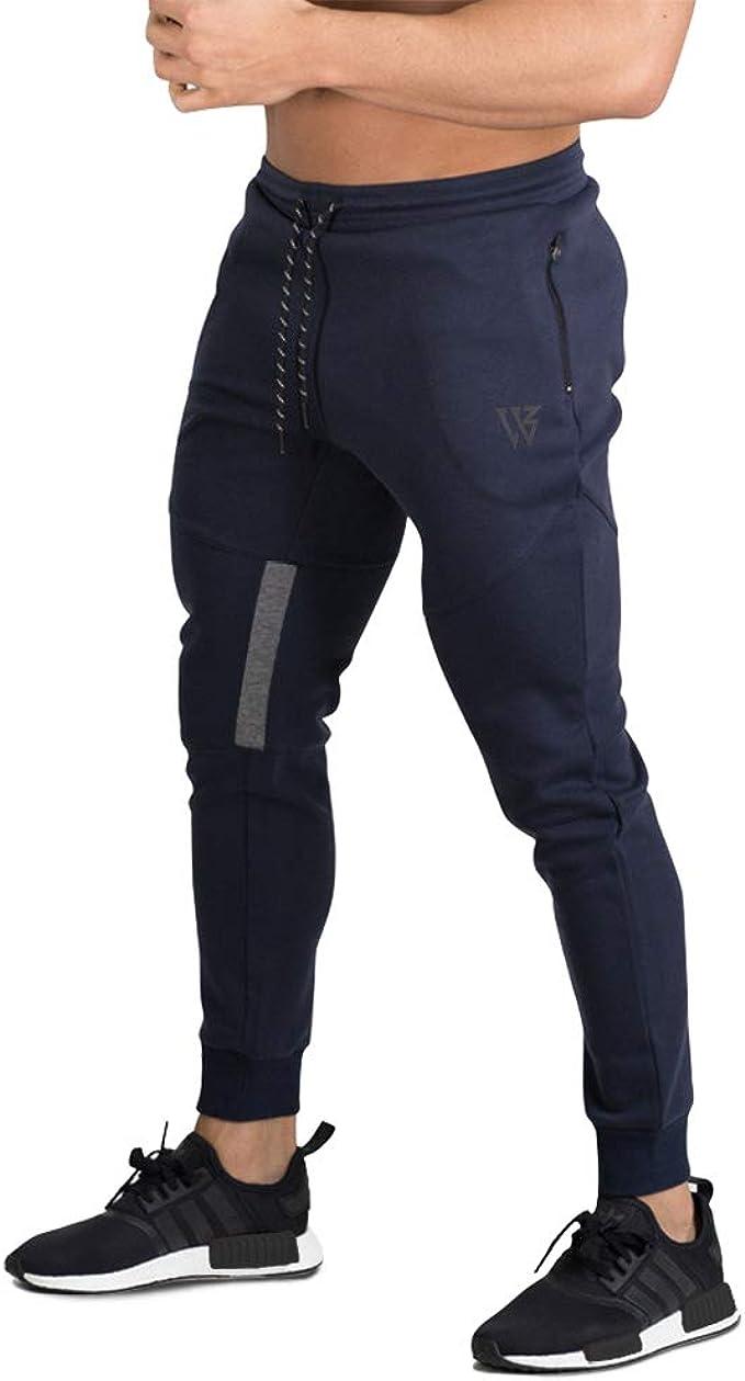 BROKIG Pantalones de Chándal de Gimnasio para Hombre ...