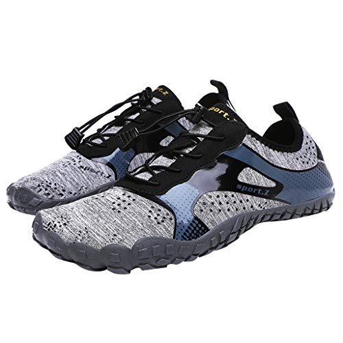87594da528d81 Jianekolaa_WaterShoes Water Shoes for Men and Women Barefoot Quick-Dry Aqua  Outdoor Athletic Sport Shoes for Kayaking, Boating, Hiking, Surfing, ...