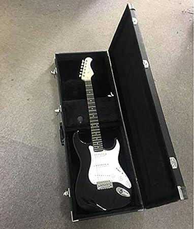 EXCEART Estuche Rígido de Guitarra Eléctrica Estuche de Guitarra Cuadrado Portátil Estuche Protector para Guitarra Ukelele: Amazon.es: Instrumentos musicales